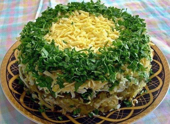 Рецепты и фото салата для праздничного стола