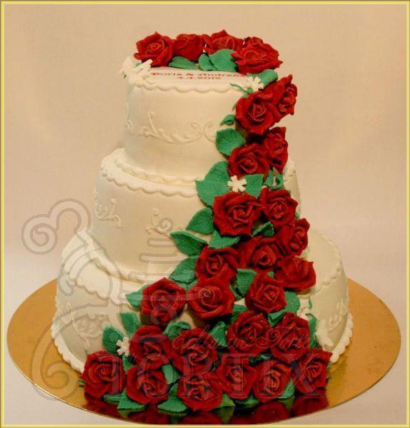 Трехэтажный торт своими руками на день рождения 8