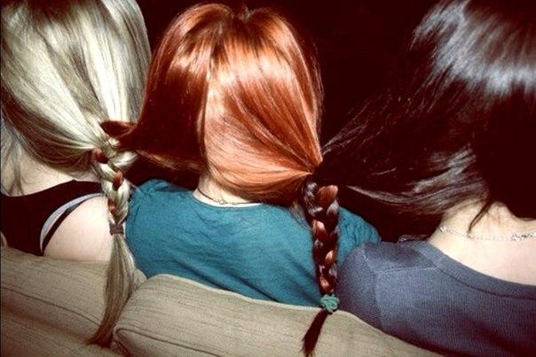 Рыжая и две подруги