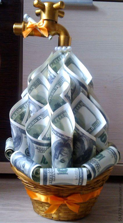 Мастер класс подарки из денег