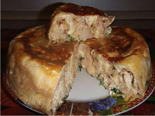 мясной пирог в мультиварке рецепты с фото