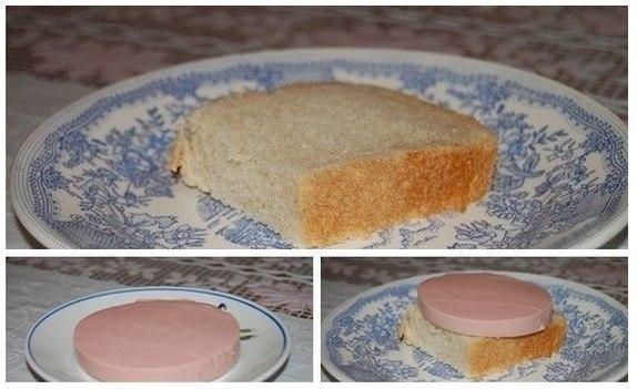 Бутерброды с колбасой и рецепт