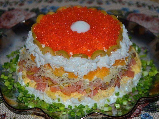 Вкусные салаты рецепты новых салатов с фото