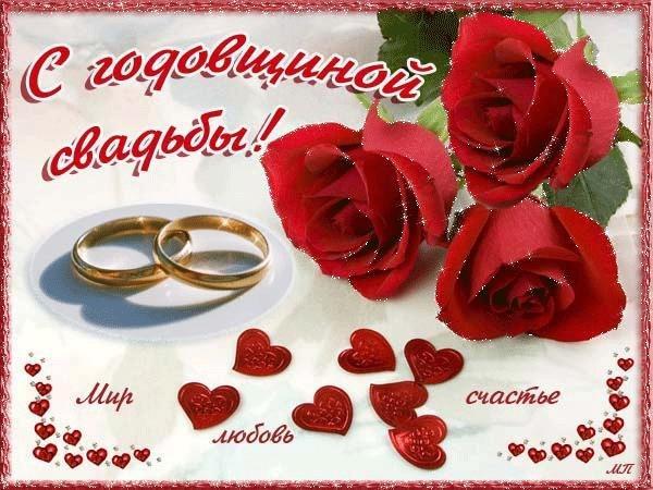 Поздравления с годовщиной свадьбы 1 год от родителей