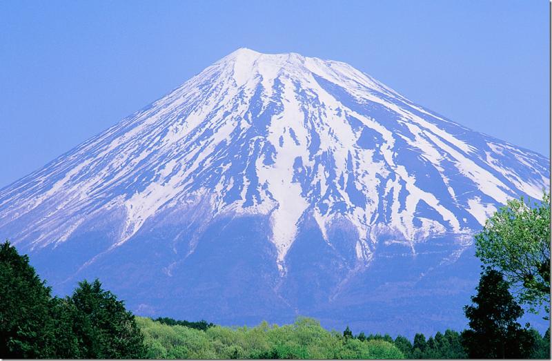 картинки горы фудзияма в японии