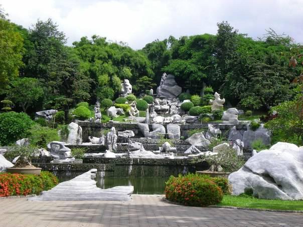 Сад камней в японии фото