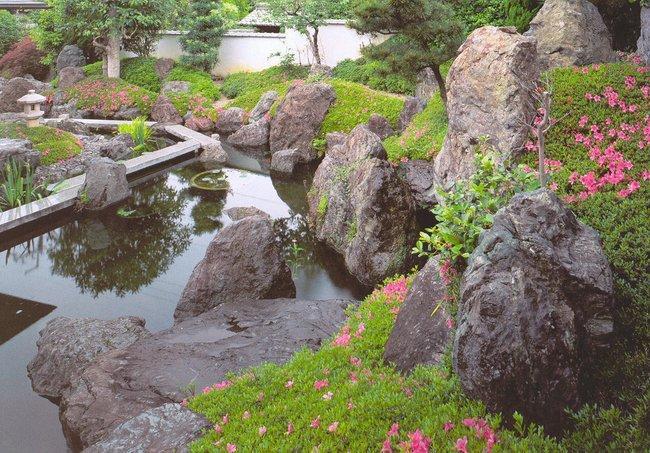 Фото сады камней японии