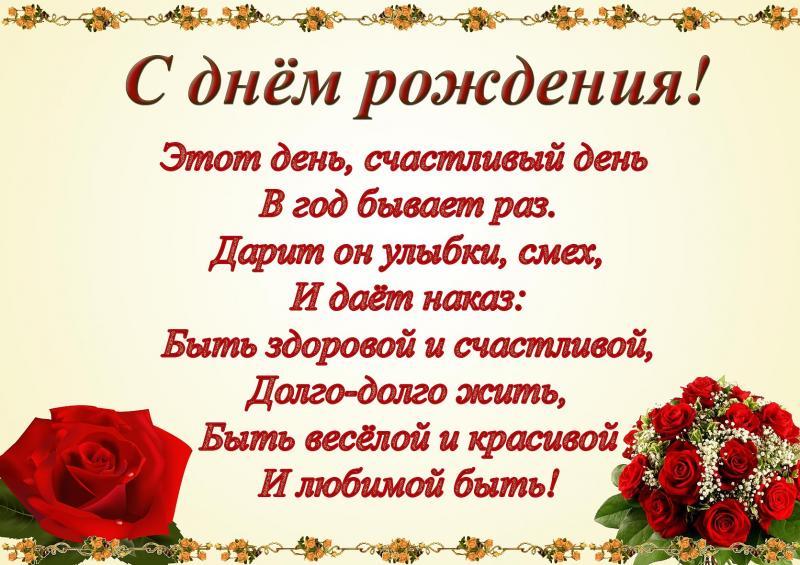 Поздравления с днем рождения женщине на день ангела