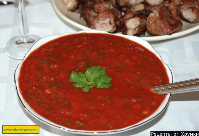 Рецепт соуса для шашлыка в домашних условиях