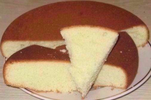 Приготовление бисквита в домашних условиях рецепт фото