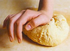 Как сделать чтобы тесто тянулось