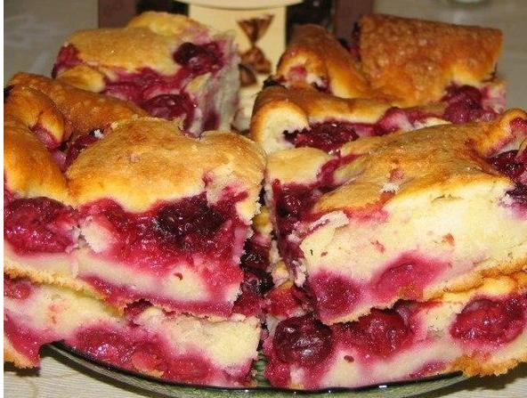 Пирог на кефире с замороженными ягодами в мультиварке рецепты