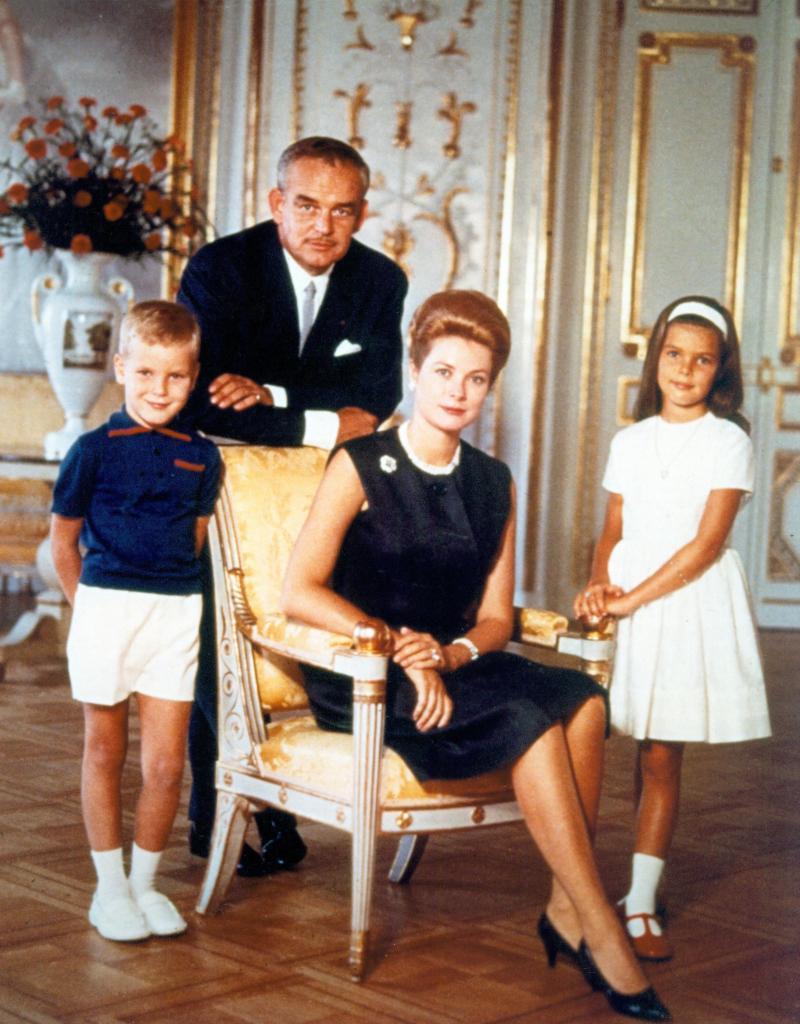 Принцесса монако грейс келли и дети фото