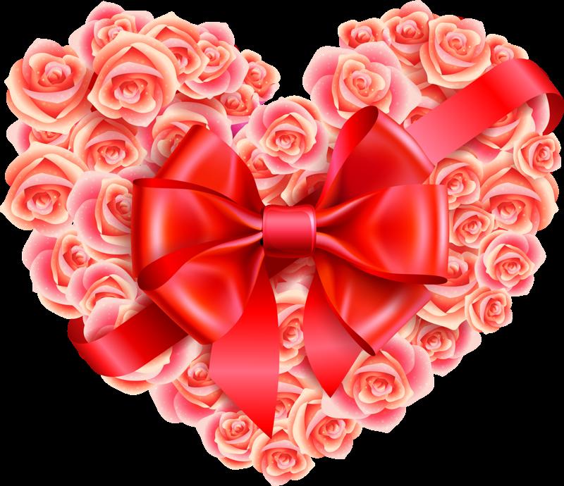 Красивая валентинка открытка