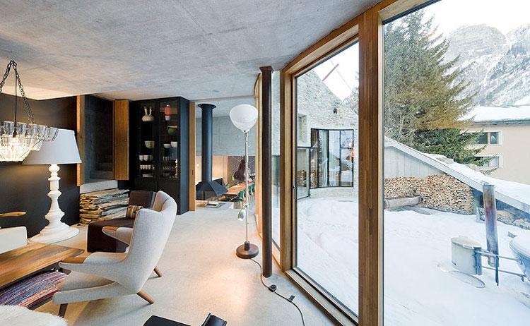 Дом в швейцарии купить в горах