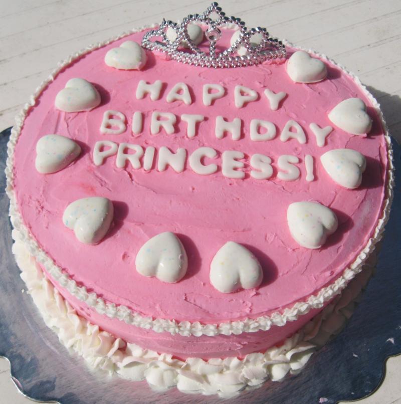 Торты картинки с днем рождения девочке