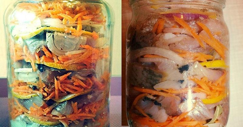 Селедка в домашних условиях с морковкой