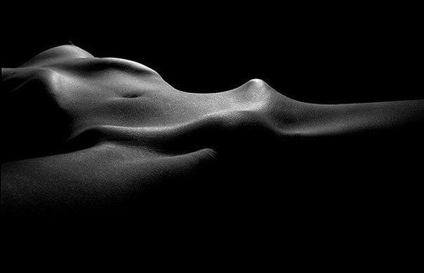 черно белое арт фото эротика