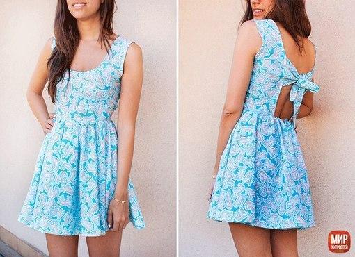 Летние легкие платья своими руками