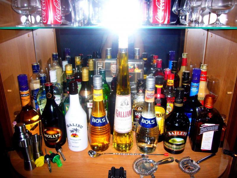 Фото спирт. напитков