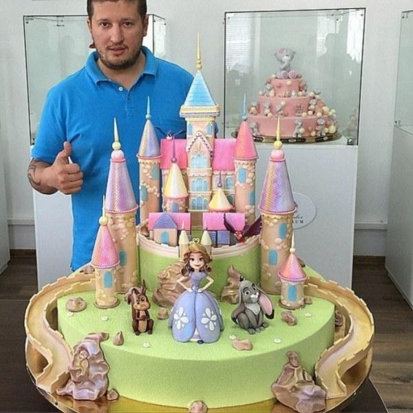 Как сделать торт самому ребенку