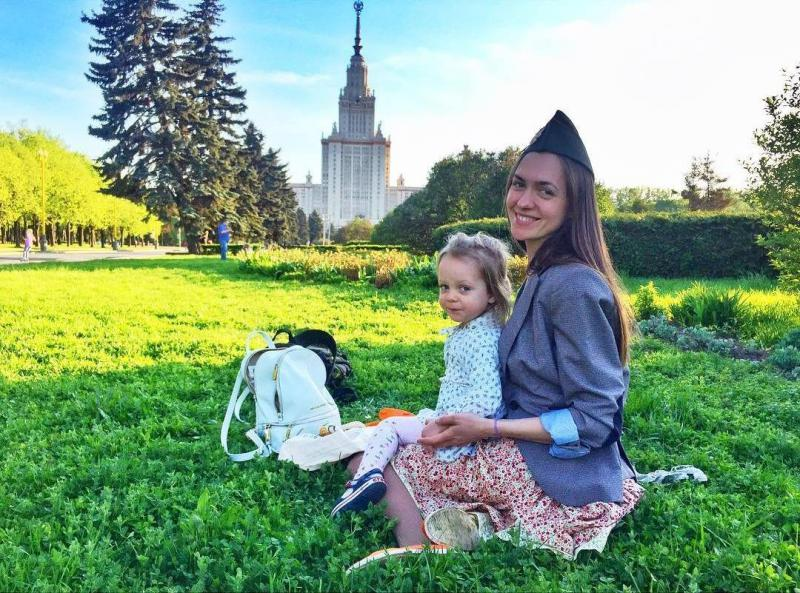 маша адоевцева с дочкой фото
