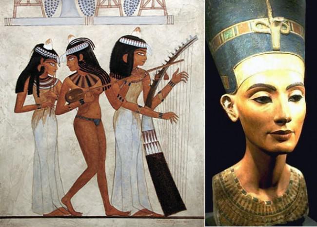 Красота женщин в древнем египте