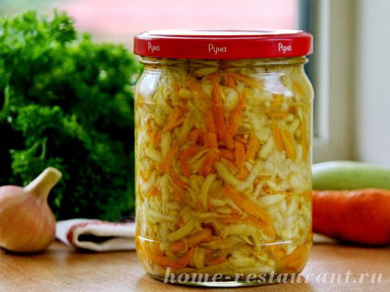 Салат загадка рецепт с на зиму
