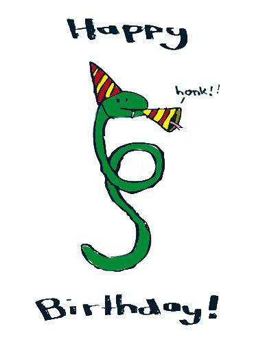 Поздравление мужчине змее