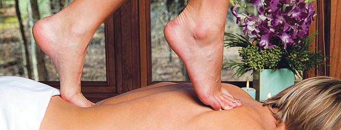Русский массаж ногами