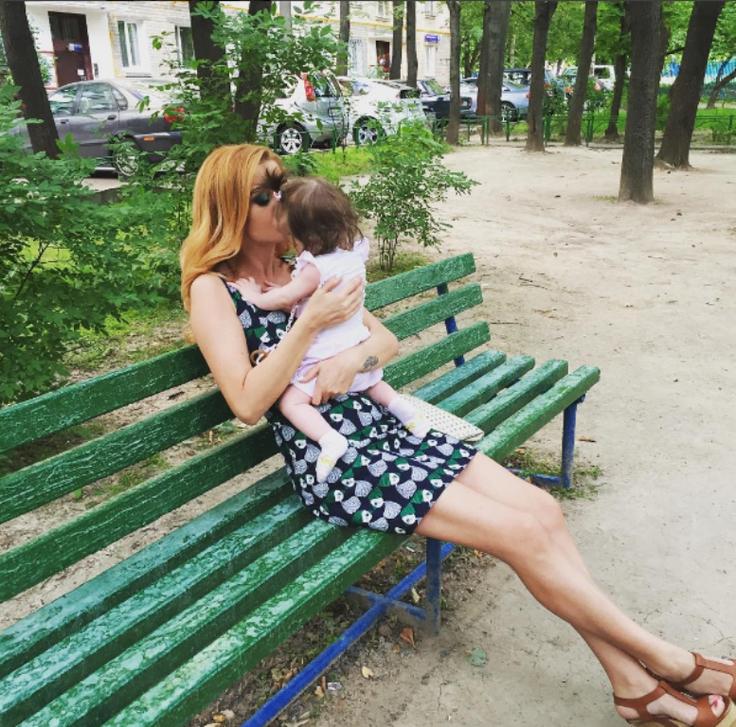 Фото дочери Ксении Бородиной попало в Сеть