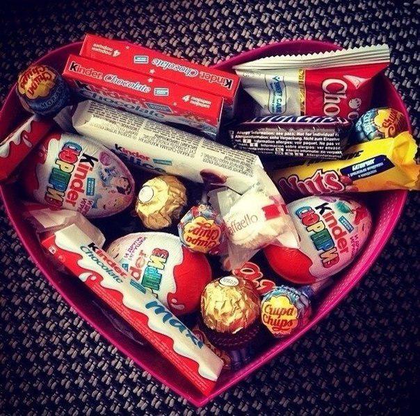 Как сделать набор из сладостей