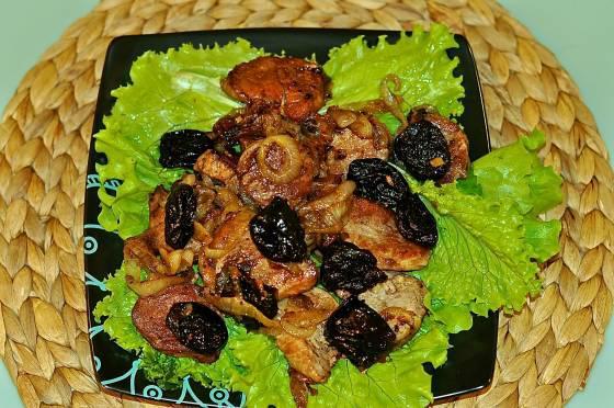 Блюдо с черносливом рецепты