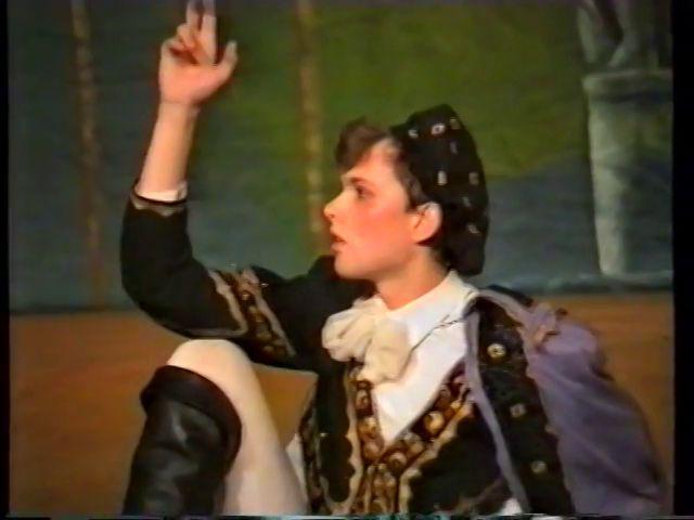 «Двенадцатая ночь» по пьесе У.Шекспира - выпуск СГбГАТИ, 6 мая 1990 г (видео, скрины) 0722c