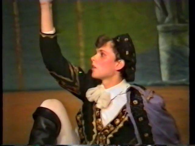 «Двенадцатая ночь» по пьесе У.Шекспира - выпуск СГбГАТИ, 6 мая 1990 г (видео, скрины) 33093