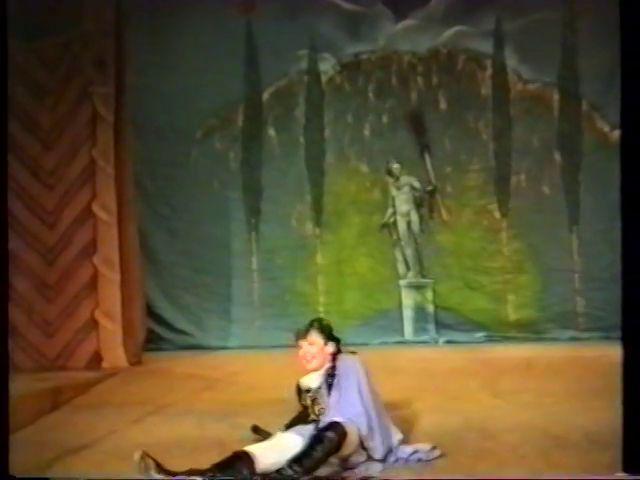 «Двенадцатая ночь» по пьесе У.Шекспира - выпуск СГбГАТИ, 6 мая 1990 г (видео, скрины) 386fe