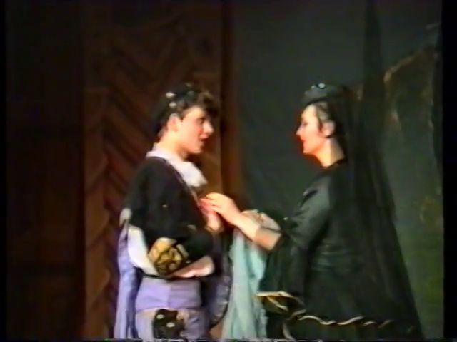 «Двенадцатая ночь» по пьесе У.Шекспира - выпуск СГбГАТИ, 6 мая 1990 г (видео, скрины) 3aab3