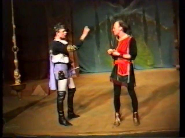 «Двенадцатая ночь» по пьесе У.Шекспира - выпуск СГбГАТИ, 6 мая 1990 г (видео, скрины) 42e95