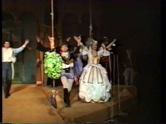 «Двенадцатая ночь» по пьесе У.Шекспира - выпуск СГбГАТИ, 6 мая 1990 г (видео, скрины) 52a61