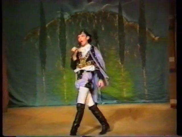 «Двенадцатая ночь» по пьесе У.Шекспира - выпуск СГбГАТИ, 6 мая 1990 г (видео, скрины) 72b05