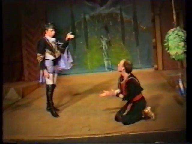 «Двенадцатая ночь» по пьесе У.Шекспира - выпуск СГбГАТИ, 6 мая 1990 г (видео, скрины) 78621