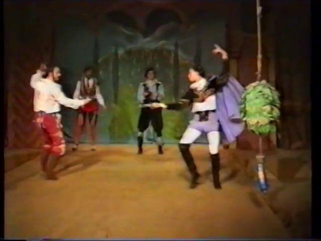 «Двенадцатая ночь» по пьесе У.Шекспира - выпуск СГбГАТИ, 6 мая 1990 г (видео, скрины) A12c3