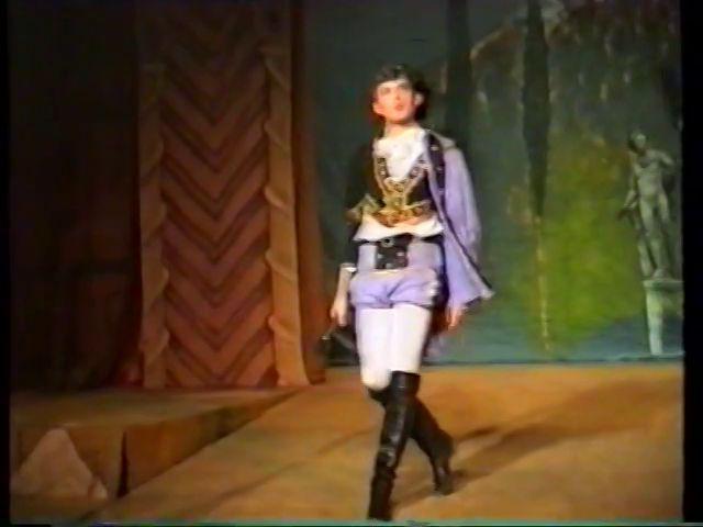 «Двенадцатая ночь» по пьесе У.Шекспира - выпуск СГбГАТИ, 6 мая 1990 г (видео, скрины) A756d