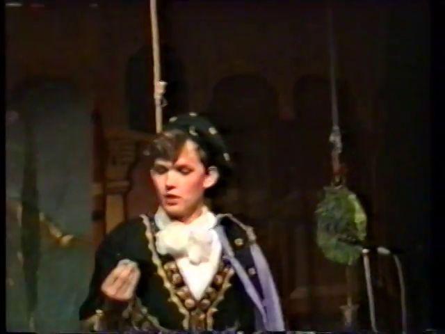 «Двенадцатая ночь» по пьесе У.Шекспира - выпуск СГбГАТИ, 6 мая 1990 г (видео, скрины) B1b86