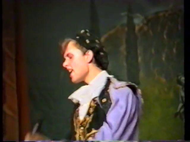 «Двенадцатая ночь» по пьесе У.Шекспира - выпуск СГбГАТИ, 6 мая 1990 г (видео, скрины) Cfb92