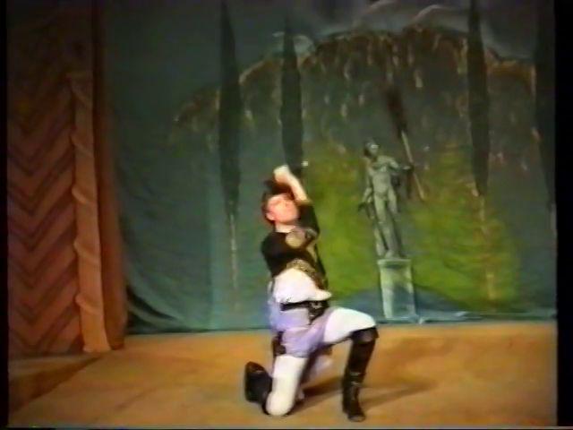 «Двенадцатая ночь» по пьесе У.Шекспира - выпуск СГбГАТИ, 6 мая 1990 г (видео, скрины) E877b