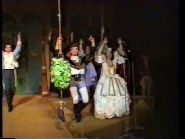 «Двенадцатая ночь» по пьесе У.Шекспира - выпуск СГбГАТИ, 6 мая 1990 г (видео, скрины) F6b20