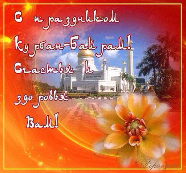 Открытки с поздравлением курбан-байрам на татарском языке, год шесть месяцев