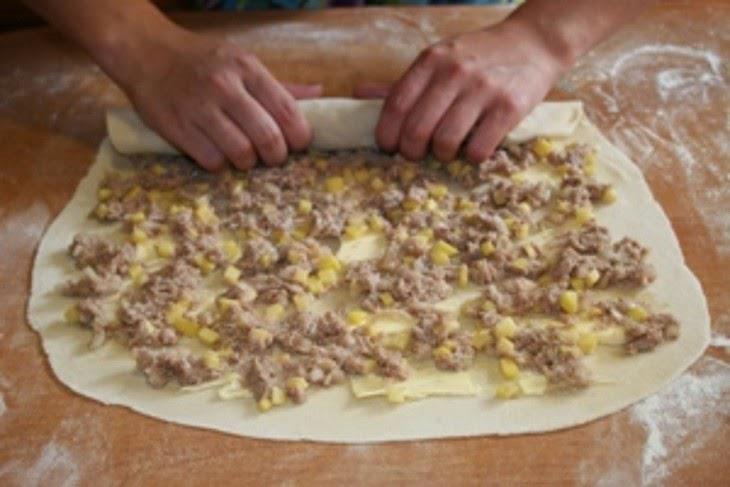 Рецепт ханумы с фаршем пошагово