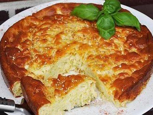 Пирог с сырой капустой рецепт с фото пошагово в духовке